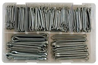 Connect 31876 220 Piece Assorted Split Pins-Large Sizes Box